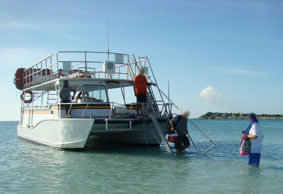 38 Ft Belle Craft Catamaran